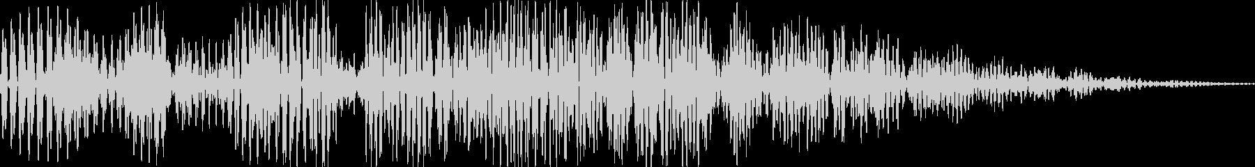 ボワボワ(ツボから魔人 煙 変身)の未再生の波形