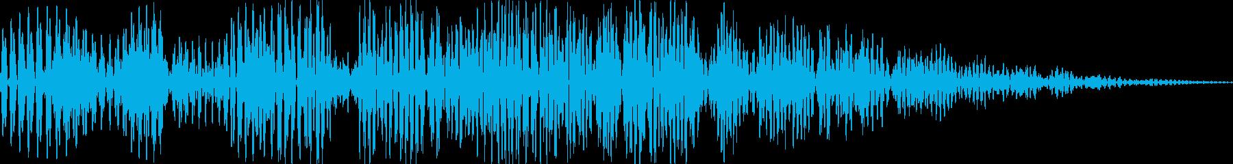 ボワボワ(ツボから魔人 煙 変身)の再生済みの波形