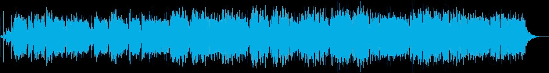 心地よいシンセのメロディージャズの再生済みの波形