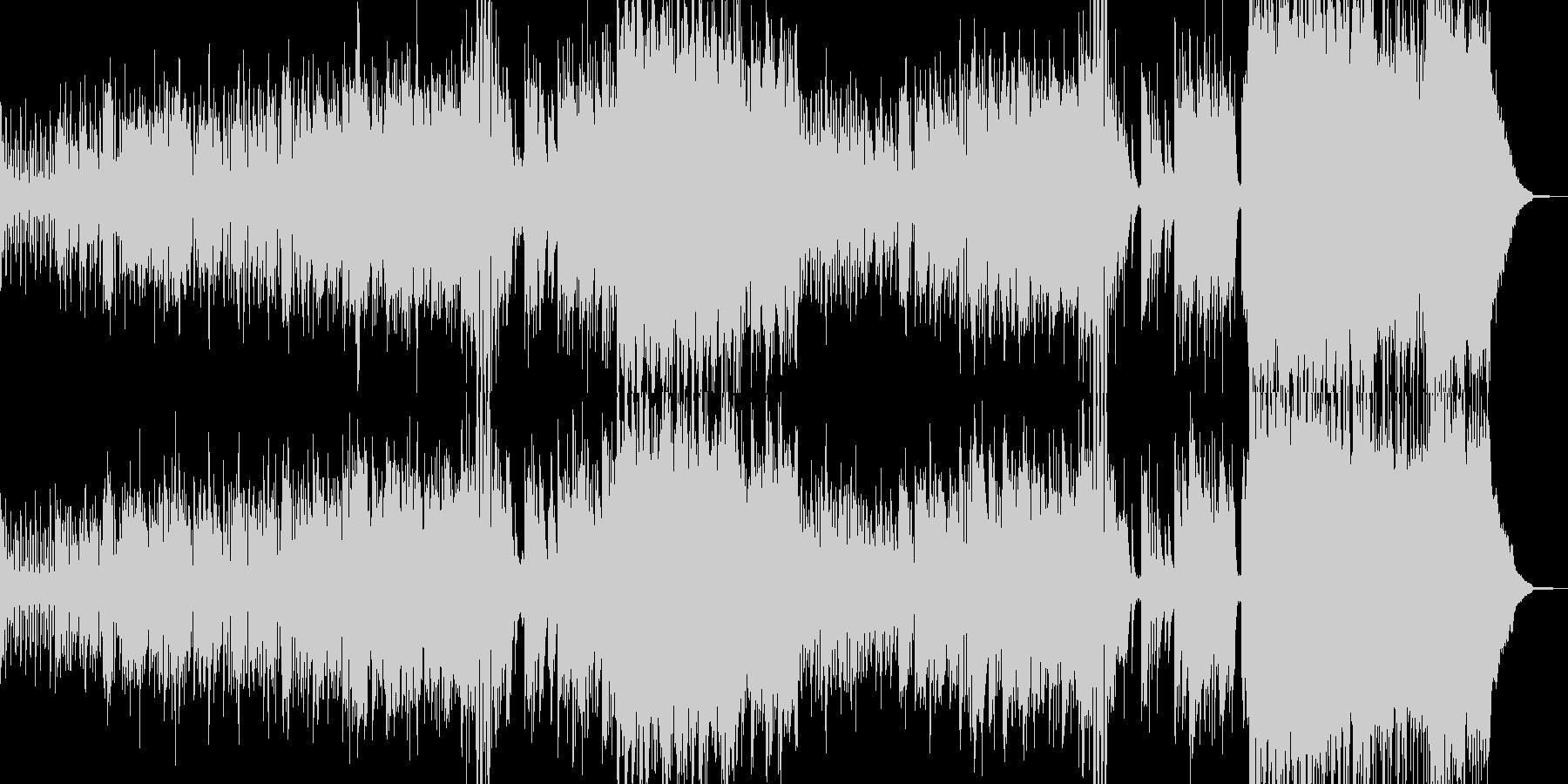 ハロウィンナイト・異世界風ワルツ A2の未再生の波形