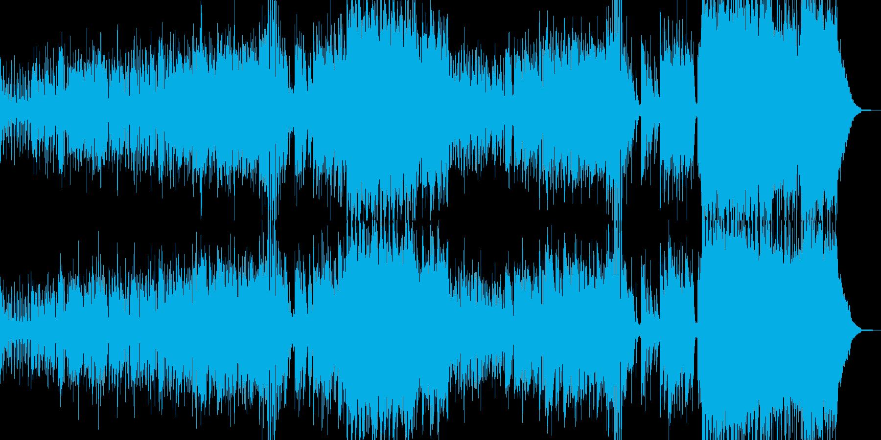 ハロウィンナイト・異世界風ワルツ A2の再生済みの波形