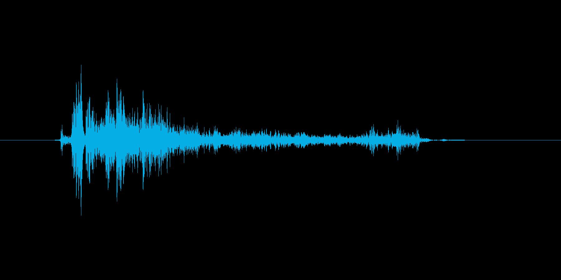 (いびき)の再生済みの波形