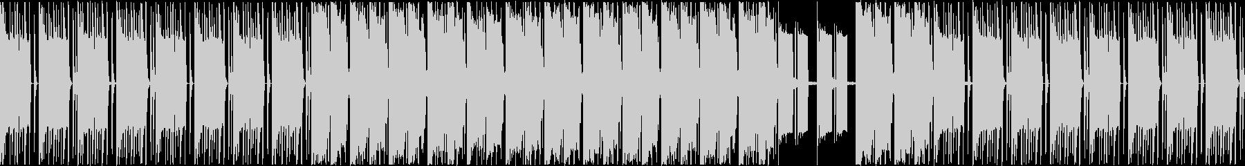 スローモーションなギャング風ビートの未再生の波形