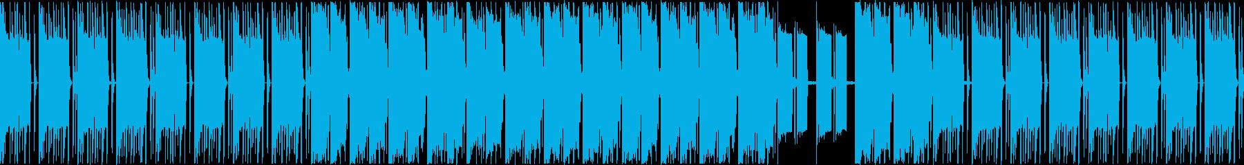スローモーションなギャング風ビートの再生済みの波形