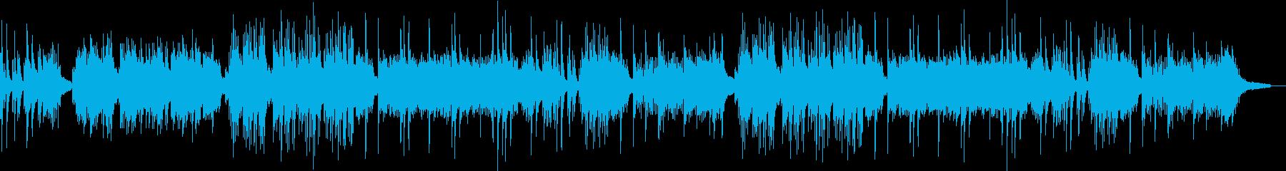 せつなさを感じるソロピアノのバラードの再生済みの波形
