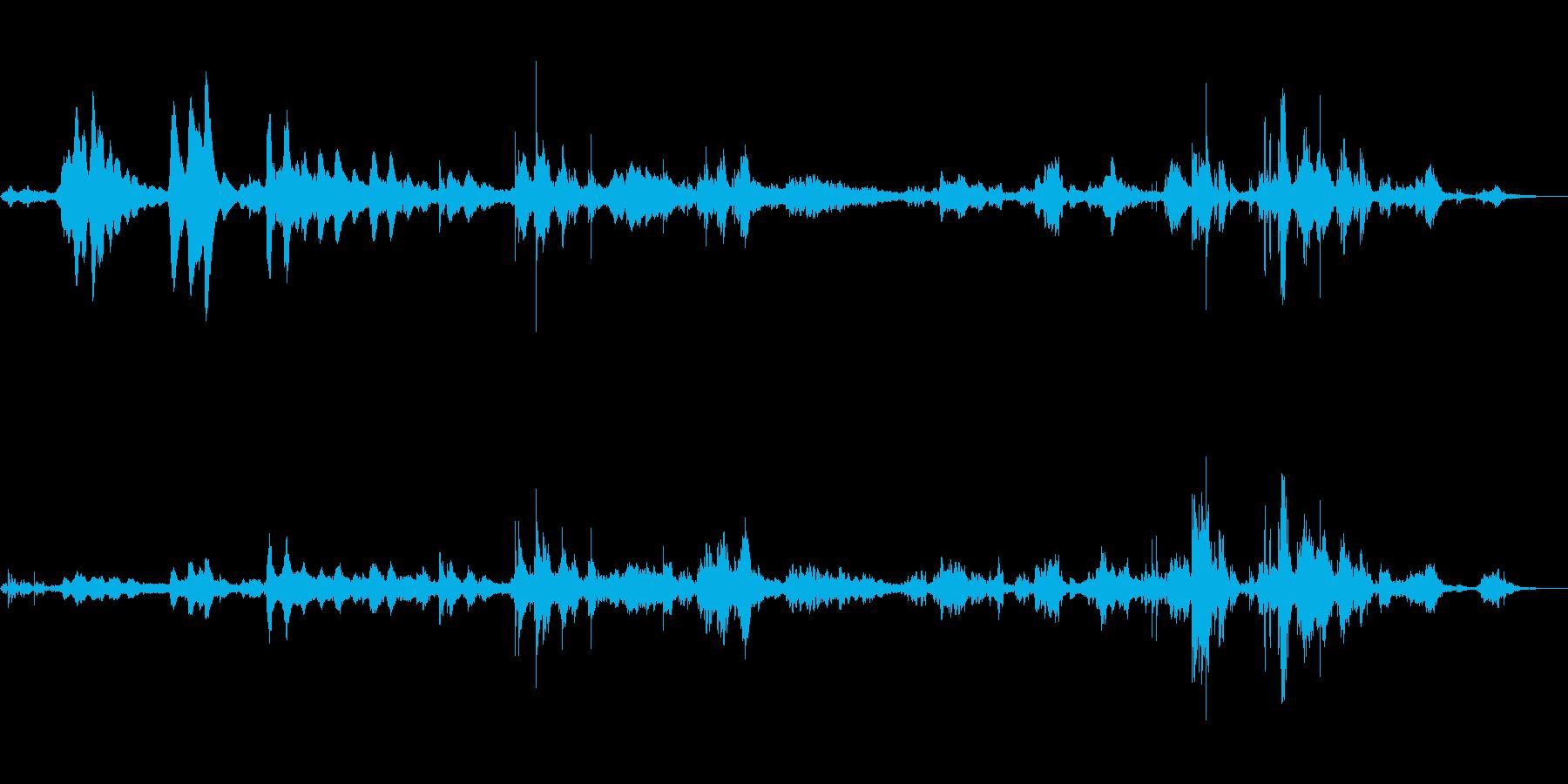 民族系ウィンドチャイム。約3分間。の再生済みの波形
