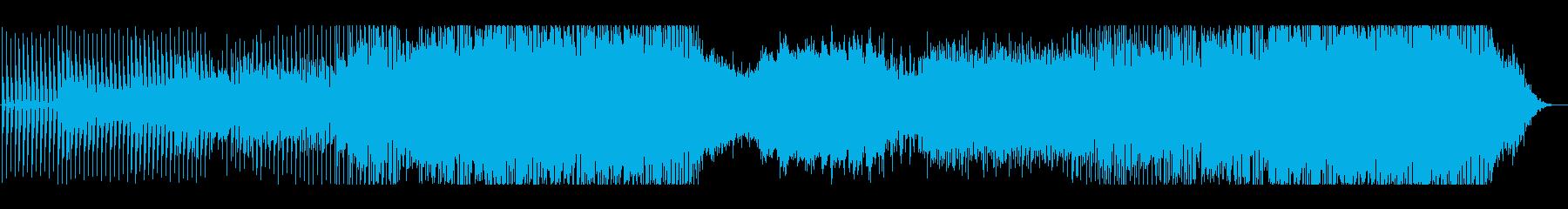 ドライブ感のあるBig Room的EDMの再生済みの波形
