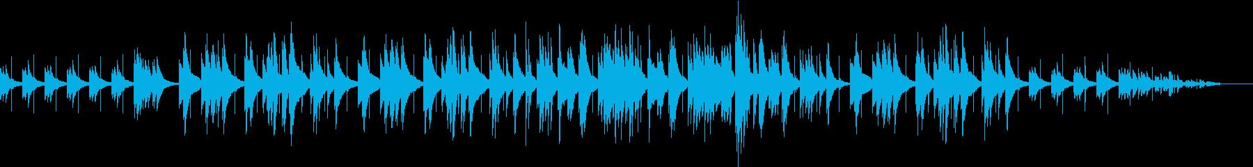 ミステリアスとポップをピアノで表現の再生済みの波形