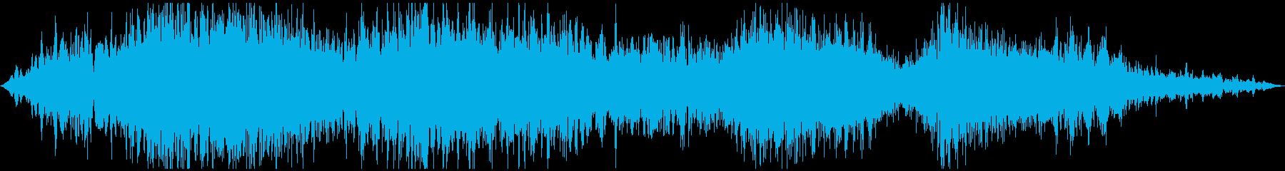 ハイダイ、ハイ、合成スクリーン、落...の再生済みの波形