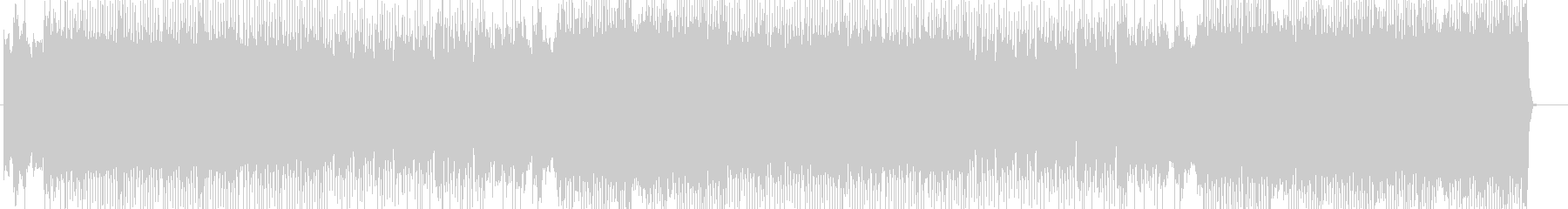 「HR/HM」「ROCK」BGM101の未再生の波形