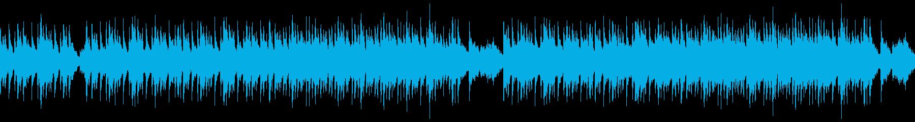 砂漠を駆け巡る冒険(民族音楽系)の再生済みの波形