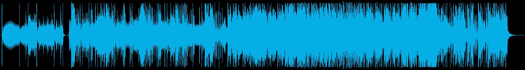 不思議な空気感のエレクトリックポップの再生済みの波形