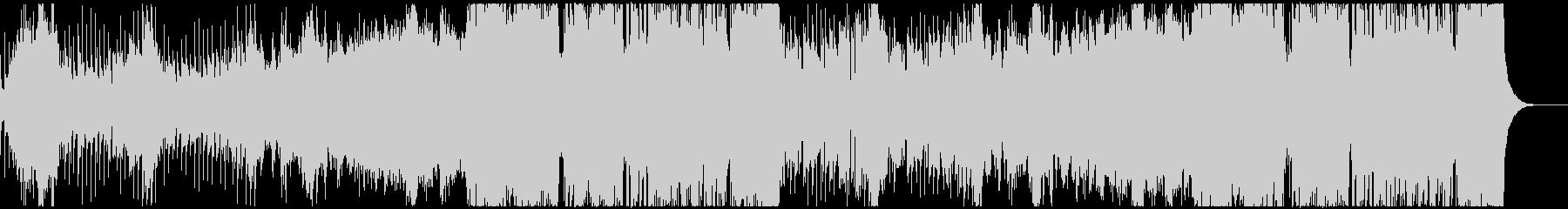 アコーディオンが印象的な日常系BGMの未再生の波形