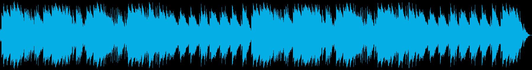 オルゴールメインの癒し睡眠BGMの再生済みの波形