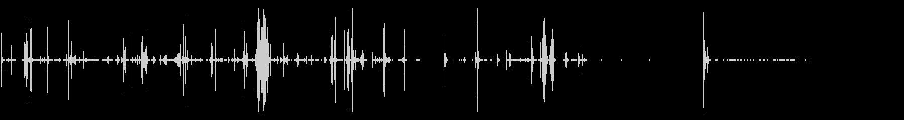 UNWRAP、POP CORK、F...の未再生の波形