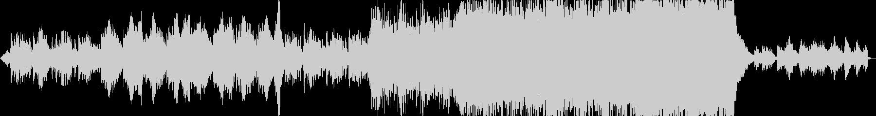 セツナ系ファンタジーオーケストラの未再生の波形