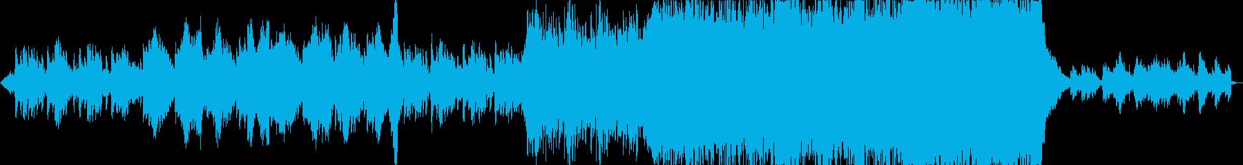 セツナ系ファンタジーオーケストラの再生済みの波形