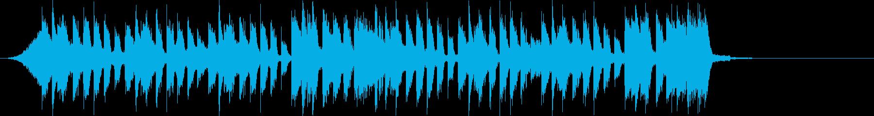 元気キッズピコピコキャッチー でコミカルの再生済みの波形