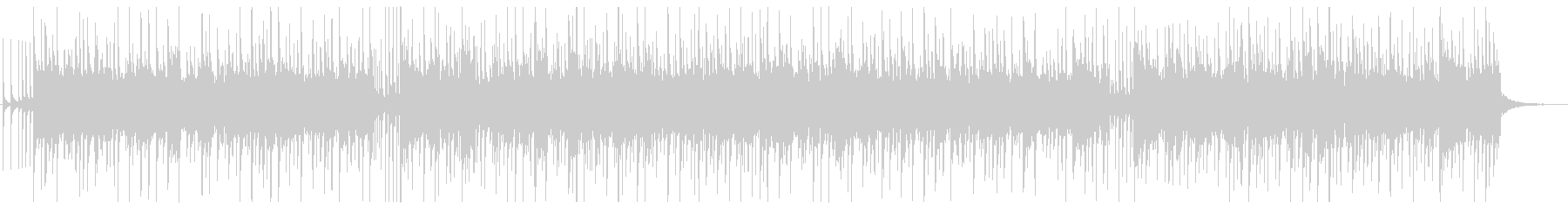 軽薄な感じのBGM ♩=130 の未再生の波形