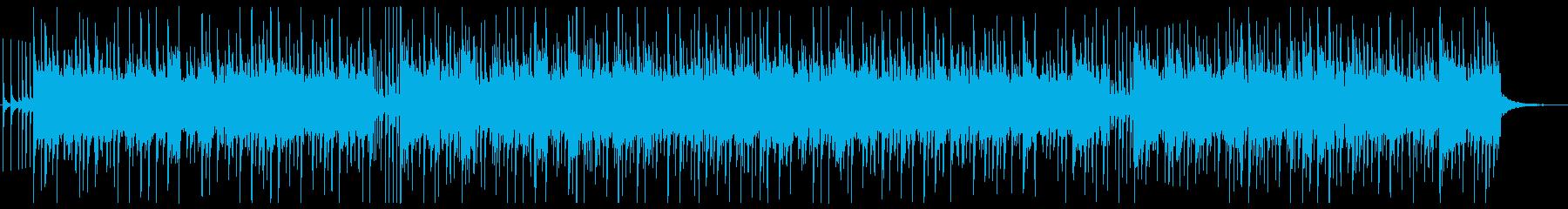 軽薄な感じのBGM ♩=130 の再生済みの波形