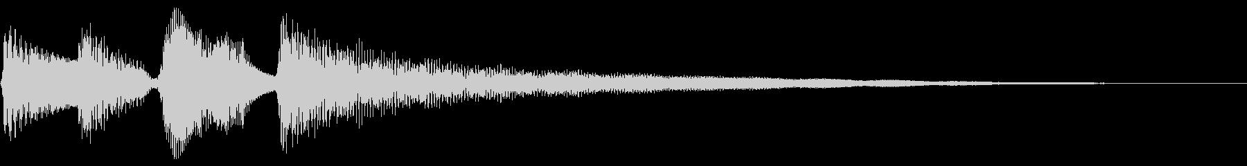 Bright bossa nova nylon guitar's unreproduced waveform