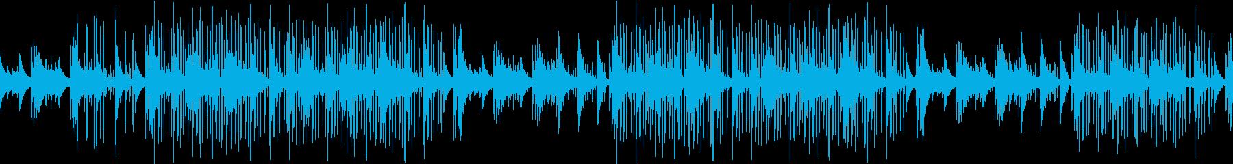 ピアノ・切ない・綺麗・大人・夜・ループの再生済みの波形