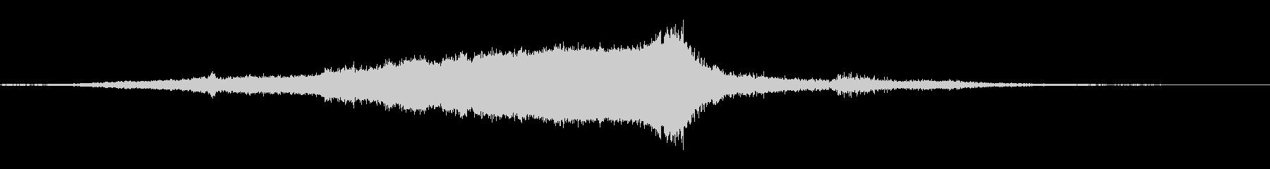 ジェットパック:スタート、ワインド...の未再生の波形