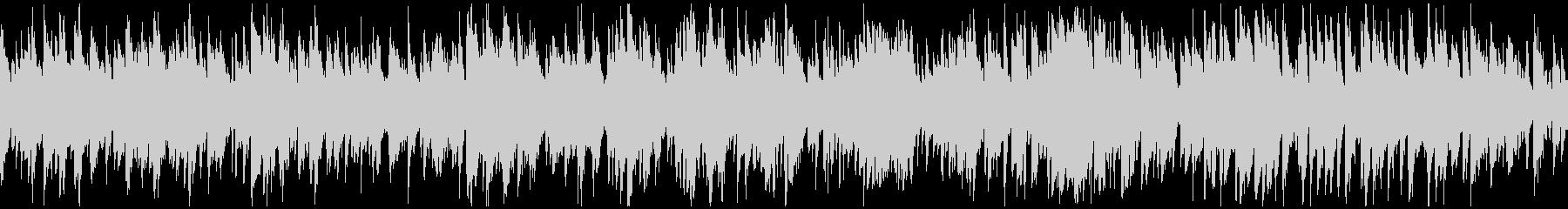 ジャズボサノバ、素敵なサックス※ループ版の未再生の波形