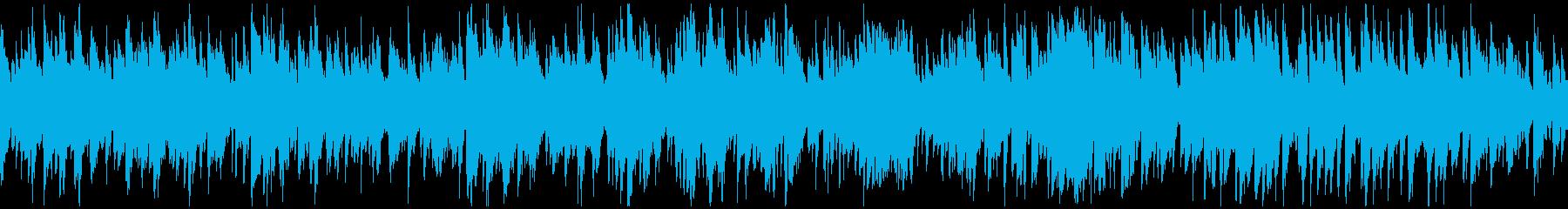 ジャズボサノバ、素敵なサックス※ループ版の再生済みの波形