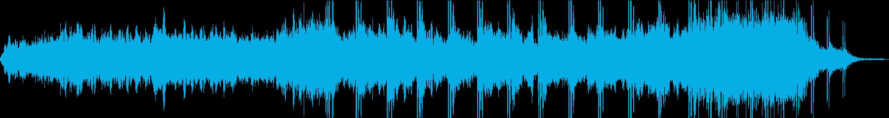 不気味なコズミックホラー感のあるBGMの再生済みの波形