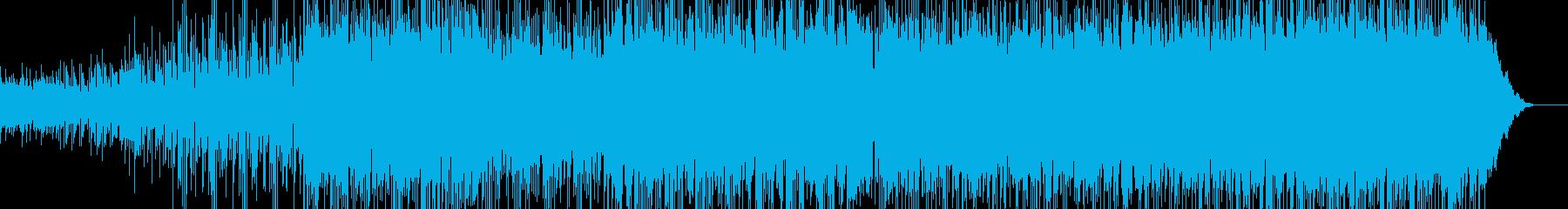 シンセのテクスチャとジャングリッシ...の再生済みの波形