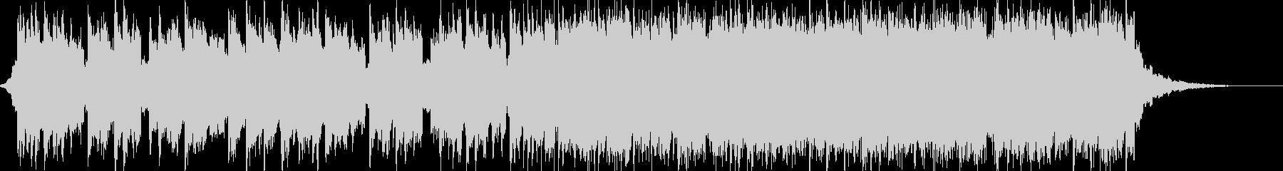 前向きでEDM系のポップ ショートの未再生の波形