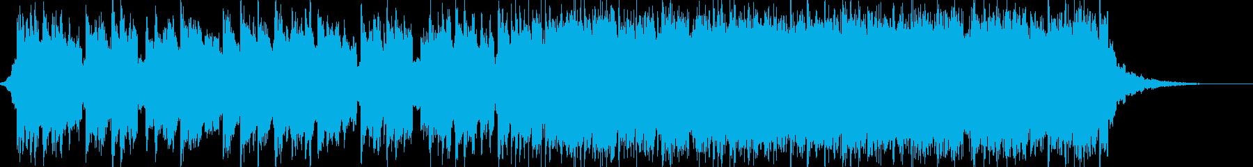 前向きでEDM系のポップ ショートの再生済みの波形