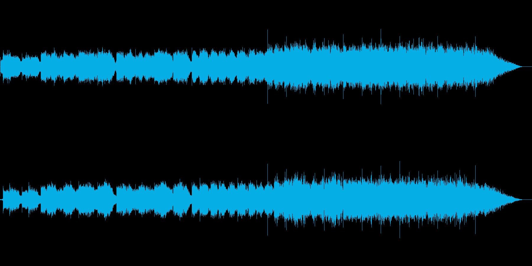 チベット系の民族楽器の幻想曲です。の再生済みの波形