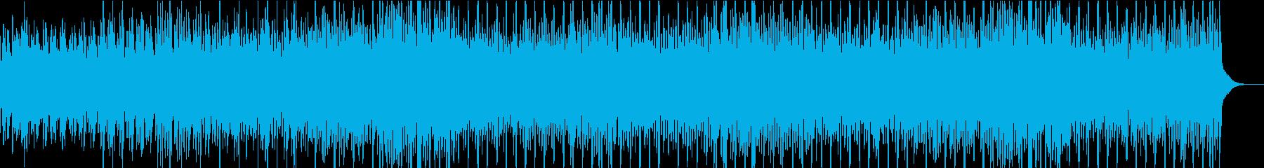 近未来の雰囲気たっぷりなシンセポップの再生済みの波形
