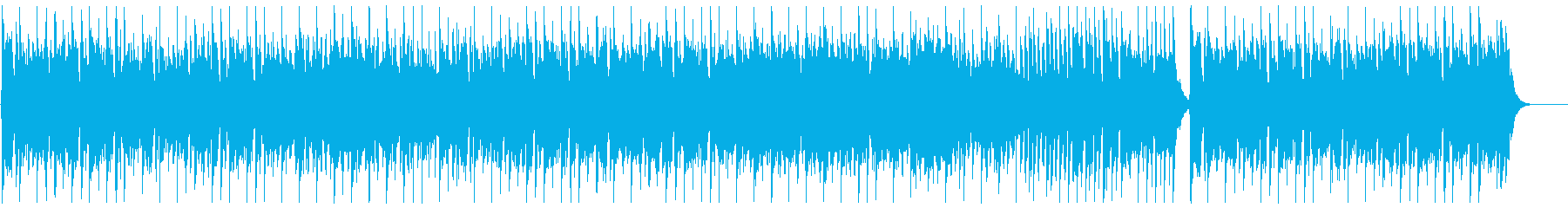ヨーロピアンな民族音楽風の再生済みの波形
