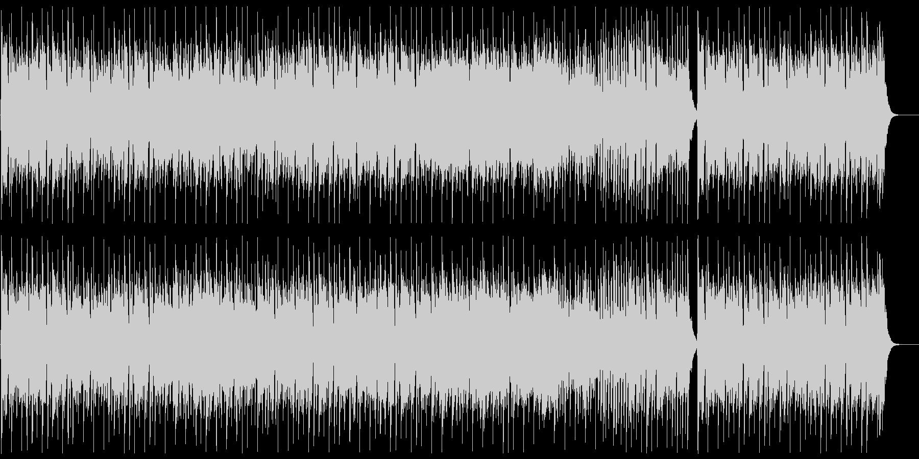 ヨーロピアンな民族音楽風の未再生の波形