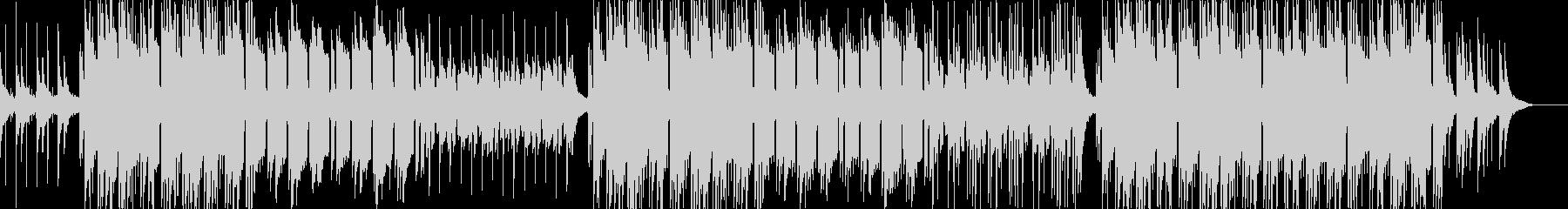 優しいメロディのローファイヒップホップの未再生の波形