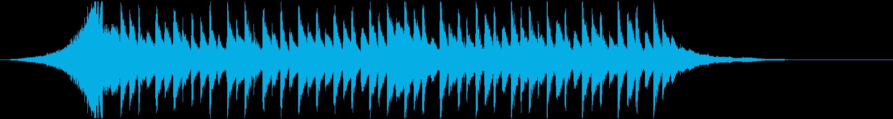 【爽やか】企業VPや映像に透明感POPSの再生済みの波形