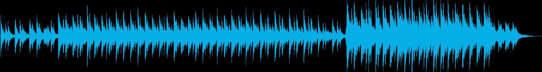 篠笛のメロディ抜きの再生済みの波形