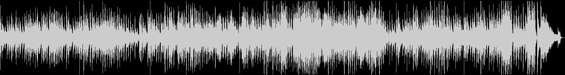 ゆったりとしたソロピアノブルース。...の未再生の波形