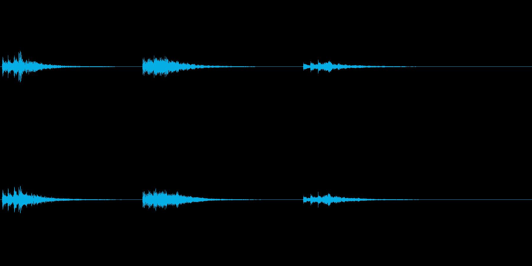 生演奏 琵琶 和風 古典風 残響有#22の再生済みの波形