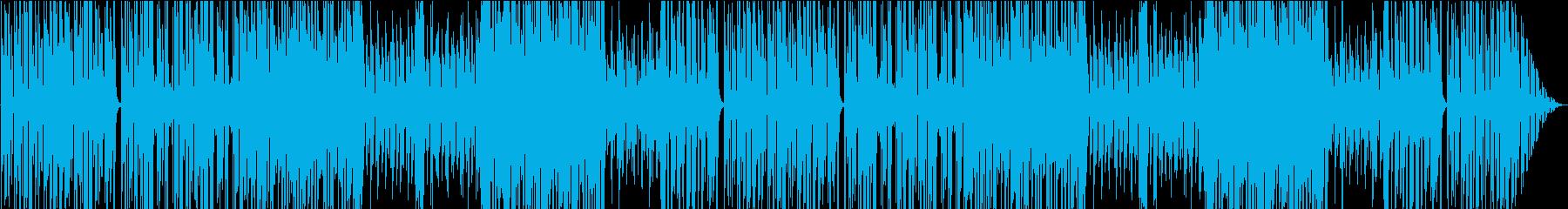 ハリのあるかっこいいゴシック×ジャズの再生済みの波形