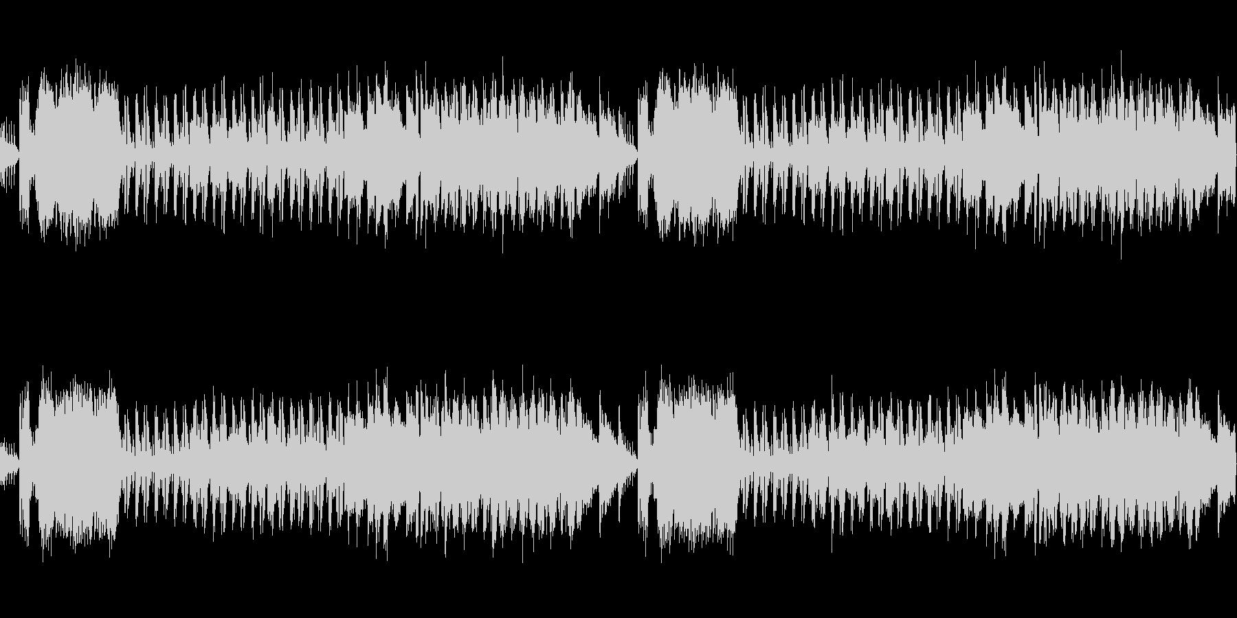 桜春琴和風ポップループ音源の未再生の波形