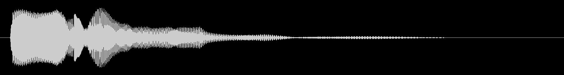 ビチュ〜ン(コミカル)の未再生の波形