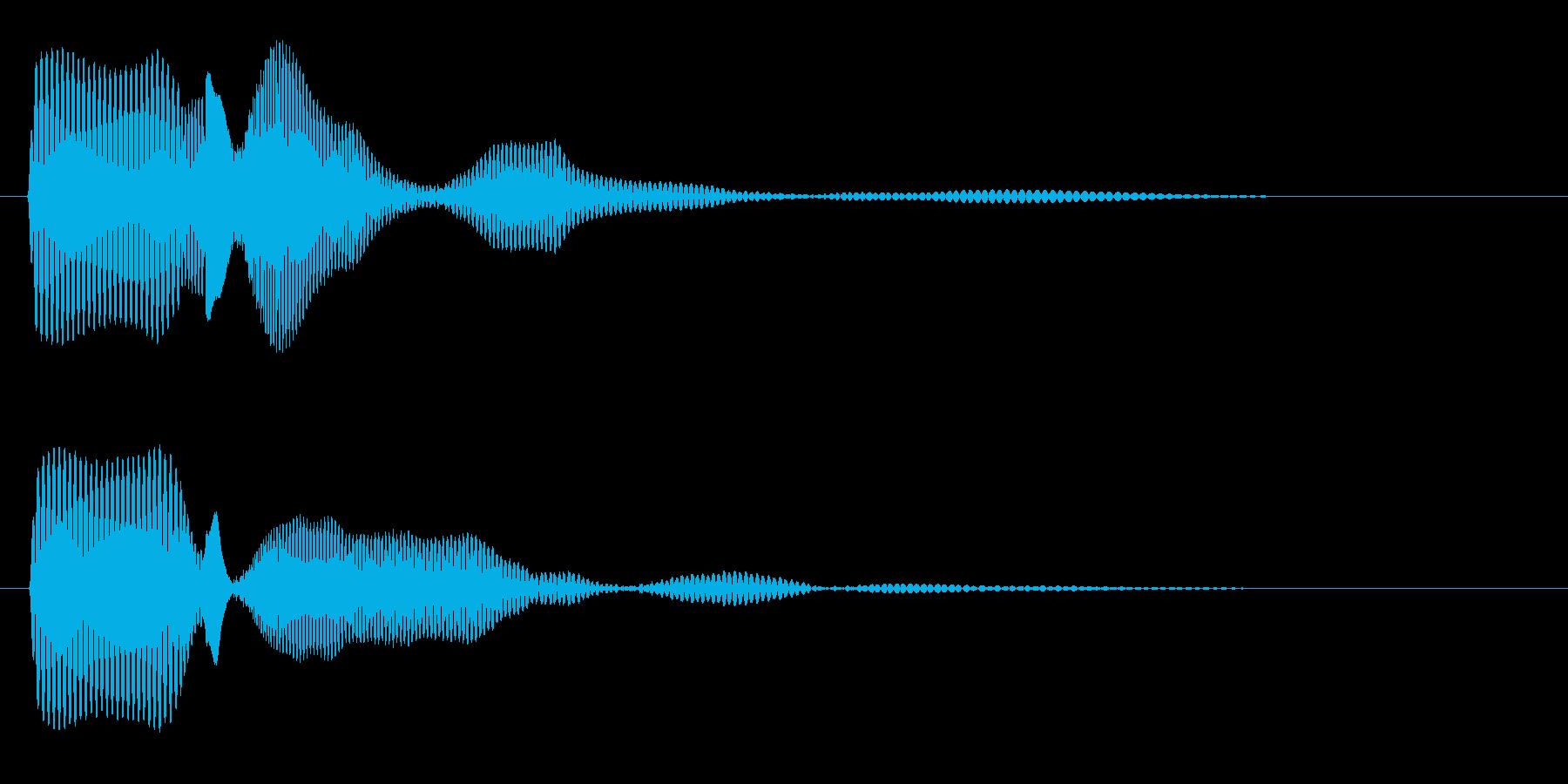 ビチュ〜ン(コミカル)の再生済みの波形