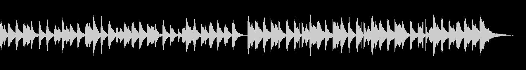 ほのぼのかわいい楽しいキラキラマリンバcの未再生の波形