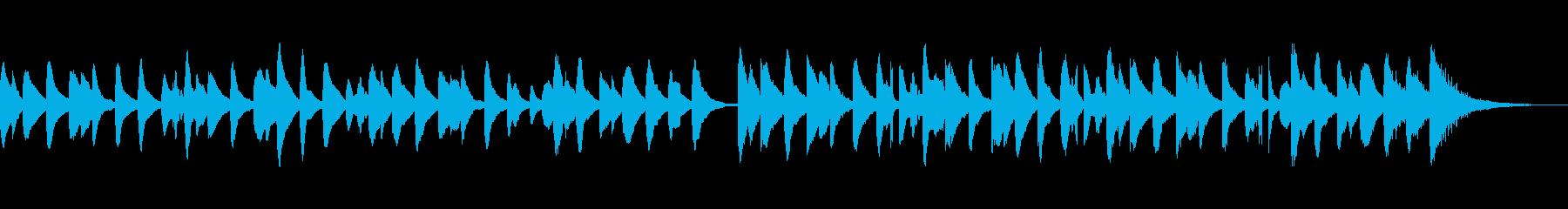 ほのぼのかわいい楽しいキラキラマリンバcの再生済みの波形