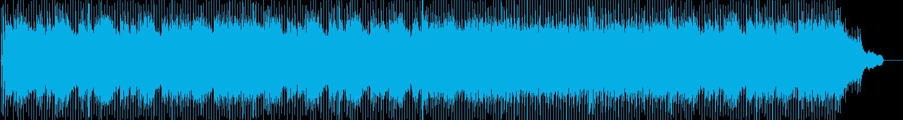 オープニング、明るく爽やか、ポップロックの再生済みの波形