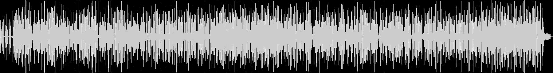 ほのぼの・田舎っぽいチープなボサノバの未再生の波形
